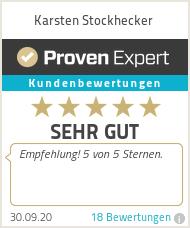 Erfahrungen & Bewertungen zu Karsten Stockhecker