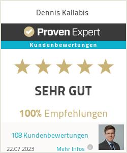 Erfahrungen & Bewertungen zu Dennis Kallabis