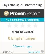 Erfahrungen & Bewertungen zu Physiotherapie Aschaffenburg