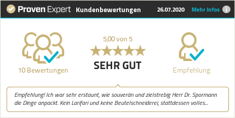 Kundenbewertungen & Erfahrungen zu Dr. h.c. Rüdiger Spormann. Mehr Infos anzeigen.