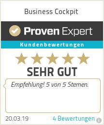 Erfahrungen & Bewertungen zu Business Cockpit