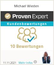 Erfahrungen & Bewertungen zu Michael Wieden