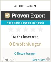 Erfahrungen & Bewertungen zu we do IT GmbH