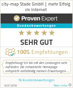 Erfahrungen & Bewertungen zu city-map Stade GmbH | mehr Erfolg im Internet