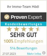 Erfahrungen & Bewertungen zu Ihr Immo-Team Hödl