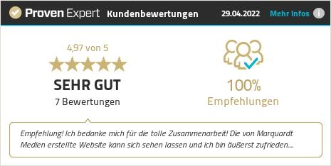 Kundenbewertungen & Erfahrungen zu Marquardt Medien. Mehr Infos anzeigen.