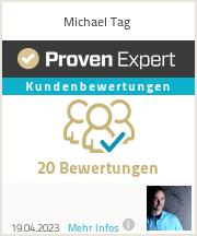 Erfahrungen & Bewertungen zu Michael Tag