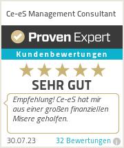 Erfahrungen & Bewertungen zu Ce-eS Management Consultant