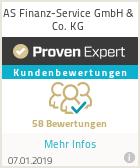 Erfahrungen & Bewertungen zu AS Finanz-Service
