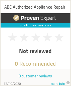 Ratings & reviews for ABC Authorized Appliance Repair