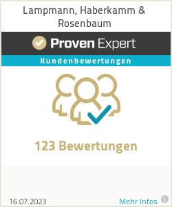 Erfahrungen & Bewertungen zu Lampmann, Haberkamm & Rosenbaum