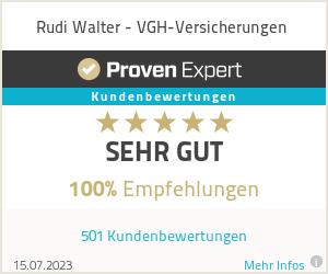 Erfahrungen & Bewertungen zu Rudi Walter - Der Versicherungskaufmann