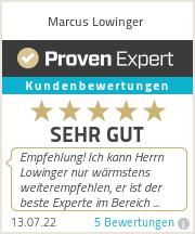 Erfahrungen & Bewertungen zu Marcus Lowinger