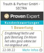 Erfahrungen & Bewertungen zu Trauth & Partner GmbH - SECTRA