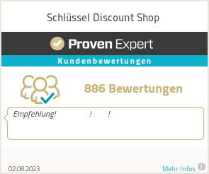 Erfahrungen & Bewertungen zu Schlüssel Discount Shop