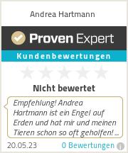 Erfahrungen & Bewertungen zu Andrea Hartmann