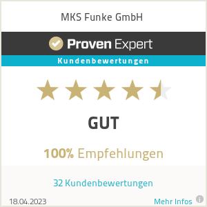 Erfahrungen & Bewertungen zu MKS Funke GmbH