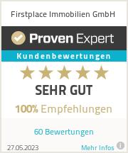 Erfahrungen & Bewertungen zu Firstplace Immobilien GmbH