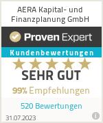 Erfahrungen & Bewertungen zu AERA Kapital- und Finanzplanung GmbH