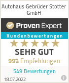 Erfahrungen & Bewertungen zu Autohaus Gebrüder Stotter GmbH