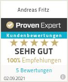 Erfahrungen & Bewertungen zu Andreas Fritz