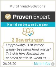 Erfahrungen & Bewertungen zu MultiThread-Solutions