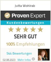 Erfahrungen & Bewertungen zu Jutta Wohlrab