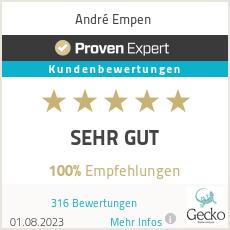 Erfahrungen & Bewertungen zu André Empen