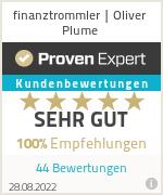Erfahrungen & Bewertungen zu finanztrommler | Oliver Plume