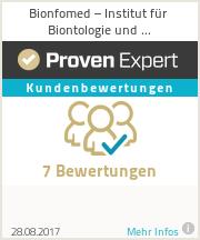 Erfahrungen & Bewertungen zu Bionfomed – Institut für Biontologie und Informationsmedizin