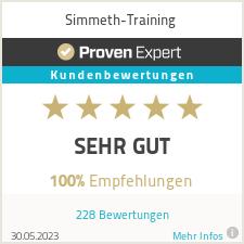 Erfahrungen & Bewertungen zu Simmeth-Training