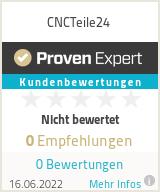 Erfahrungen & Bewertungen zu CNCTeile24