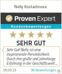 Erfahrungen & Bewertungen zu Nelly Kostadinova