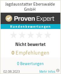 Erfahrungen & Bewertungen zu Jagdausstatter Eberswalde GmbH