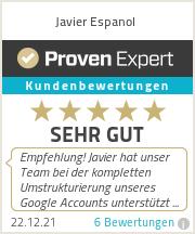 Erfahrungen & Bewertungen zu Javier Espanol