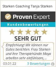 Erfahrungen & Bewertungen zu Starken Coaching Tanja Starken