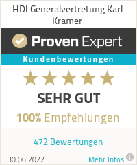 Erfahrungen & Bewertungen zu HDI Generalvertretung Karl Kramer