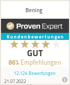 Experiences & Reviews on Bening
