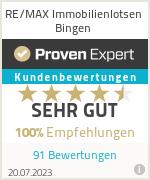 Erfahrungen & Bewertungen zu RE/MAX Makler Kontor Bingen