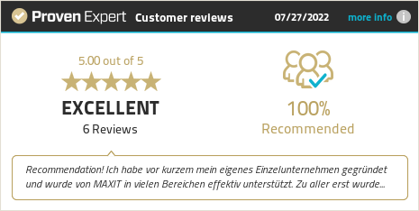 Customer reviews & experiences for MAXIT Prosperity. Show more information.