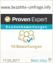 Erfahrungen & Bewertungen zu www.bezahlte-umfrage.info