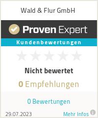 Erfahrungen & Bewertungen zu Wald & Flur GmbH