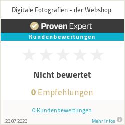 Erfahrungen & Bewertungen zu Digitale Fotografien - der Webshop
