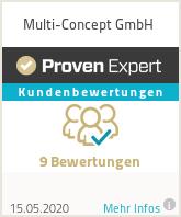 Erfahrungen & Bewertungen zu Multi-Concept GmbH
