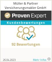 Erfahrungen & Bewertungen zu Müller & Partner Versicherungsmakler GmbH