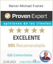 Erfahrungen & Bewertungen zu Rainer-Michael Franke