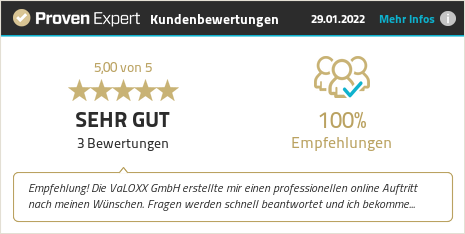 Kundenbewertungen & Erfahrungen zu VALOXX. Mehr Infos anzeigen.
