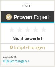 Erfahrungen & Bewertungen zu OM96