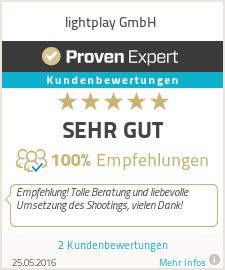 Erfahrungen & Bewertungen zu lightplay GmbH