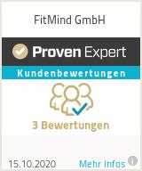 Erfahrungen & Bewertungen zu FitMind GmbH